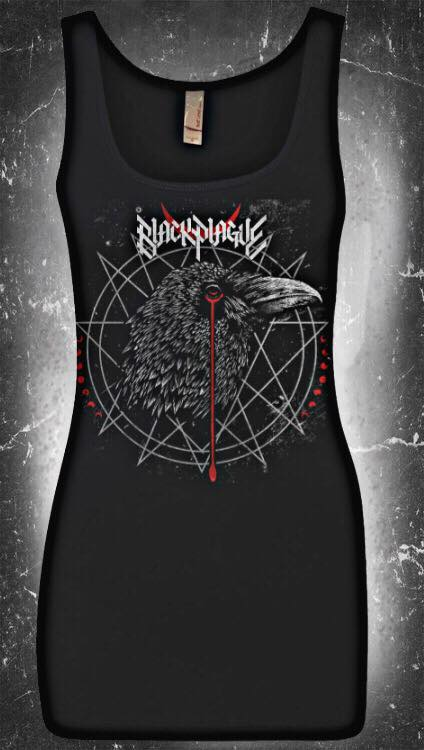 Image of Black Plague Crow Women's Tank Top