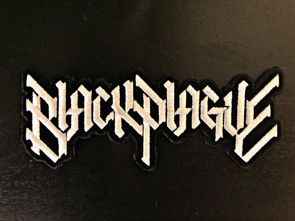 Image of Black Plague Embroidered Patch