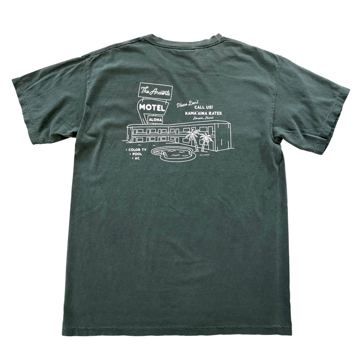 Image of Motel Tee (Spruce)