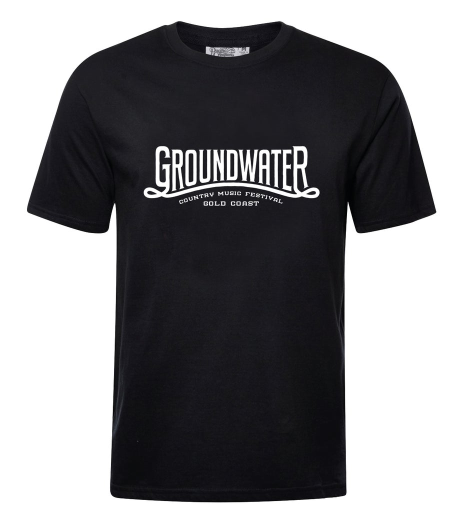 Image of Groundwater Black Mens Classic T-Shirt