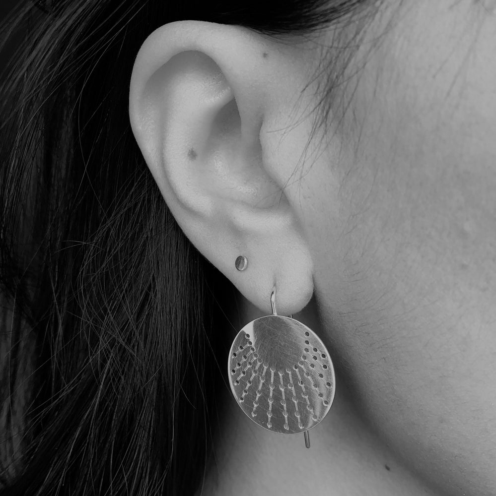 Image of Ray hook earrings