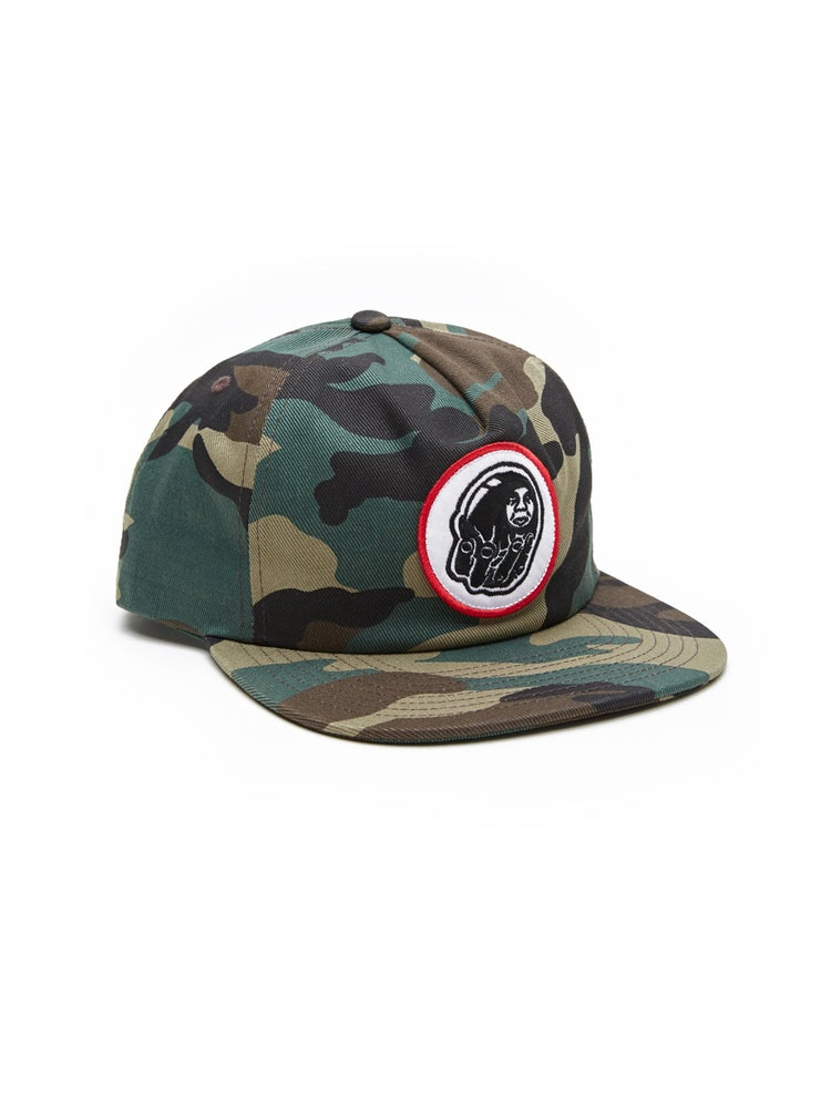 Image of OBEY - BURDEN SNAPBACK (FIELD CAMO)