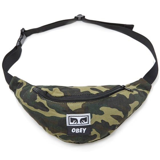 Image of OBEY - WASTED HIP BAG (CAMO)