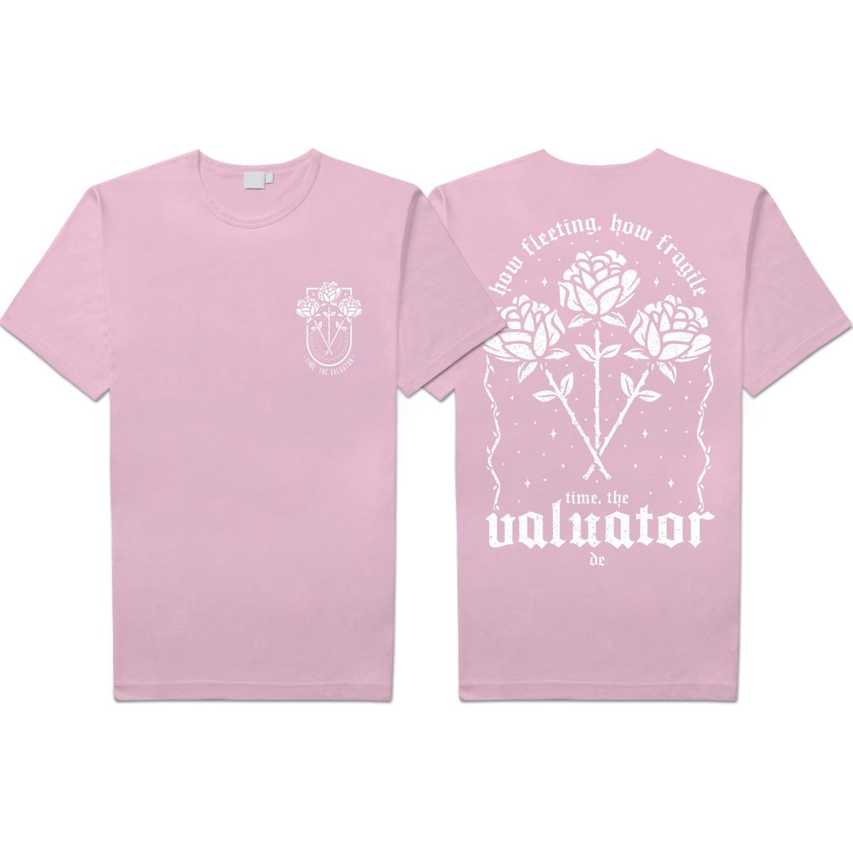 "Image of Time, The Valuator ""Roses"" Shirt"