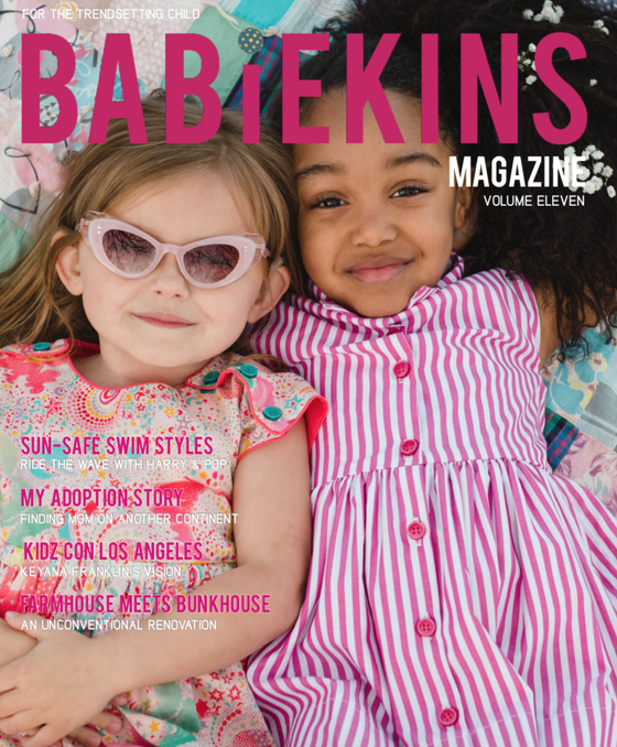Image of BABIEKINS MAGAZINE ISSUE 11 - COVER OPTION TWO