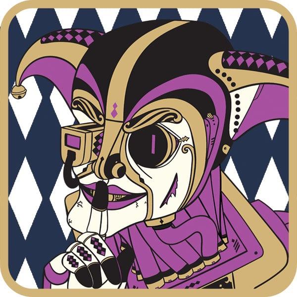 Image of Masquerade Assassin Keyring