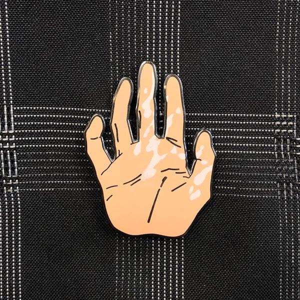 Image of Shinji's Hand ( ͡° ͜ʖ ͡°)