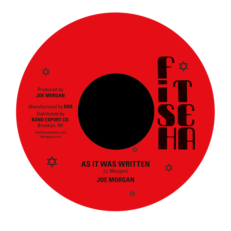"Image of Joe Morgan - As It Was Written 7"" (Fish Tea)"