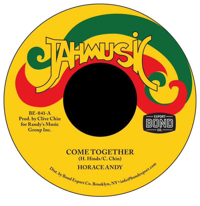 "Image of Horace Andy - Come Together 7"" (Jah Music)"