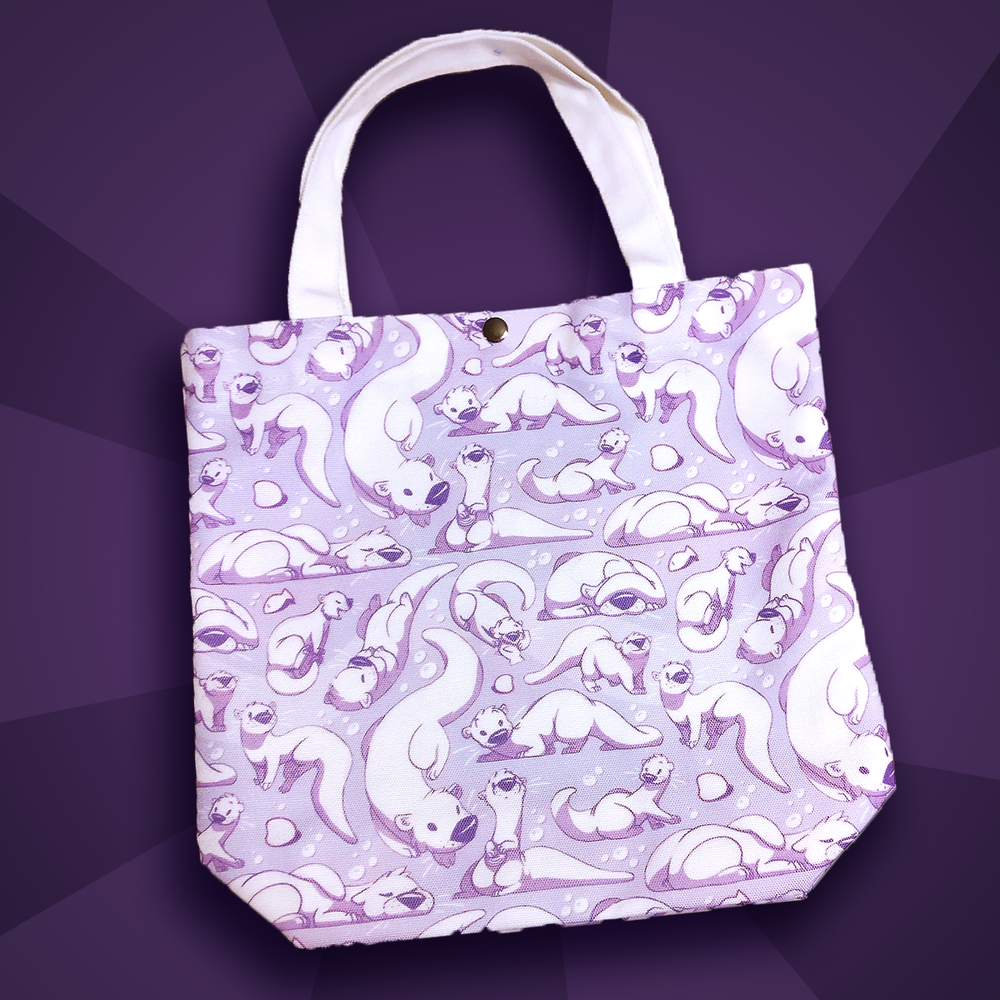 Image of Otter Tote Bag
