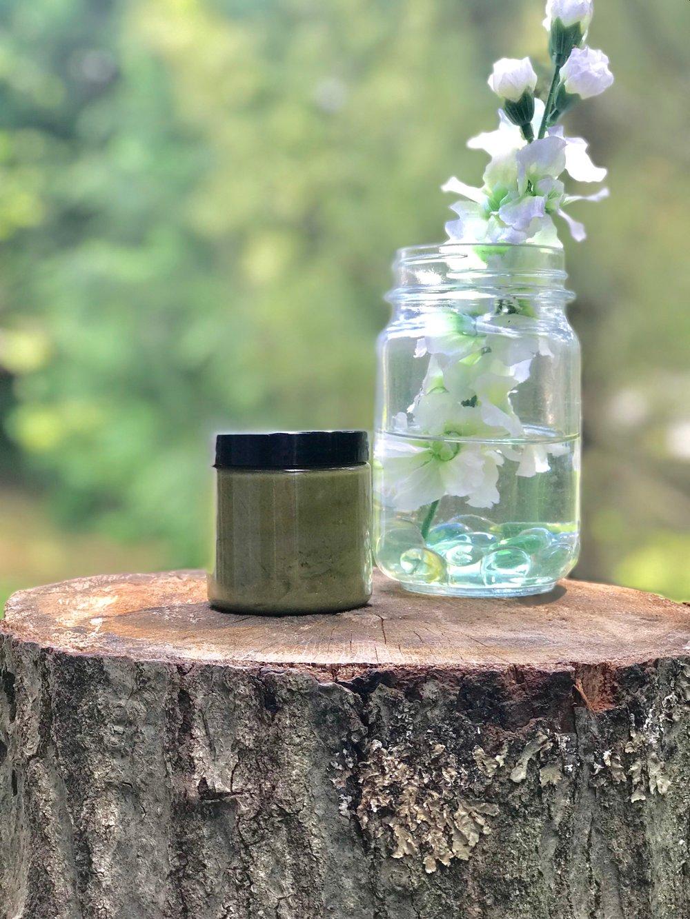 Image of GREEN TEA GLYCOLIC DETOX MASK