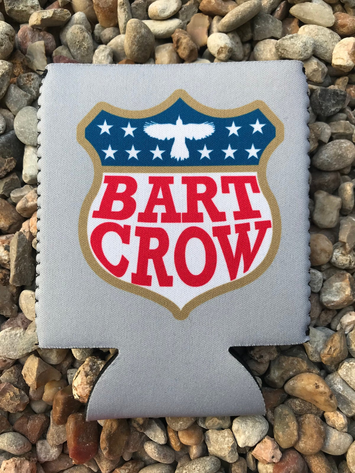 Image of Grey Koozie- Bart Crow