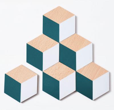 Image of Geometric Block Coasters