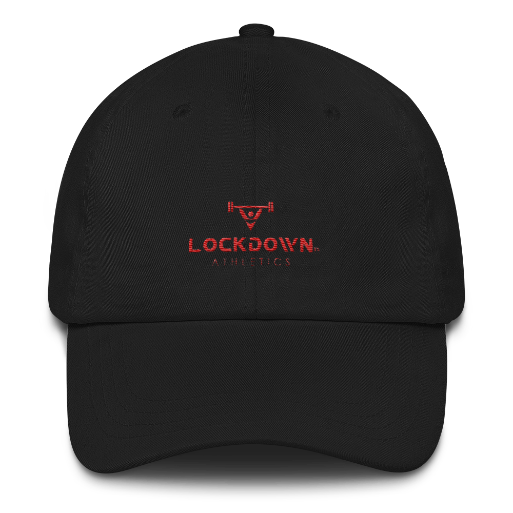Image of Power Series Dad Hat - Black