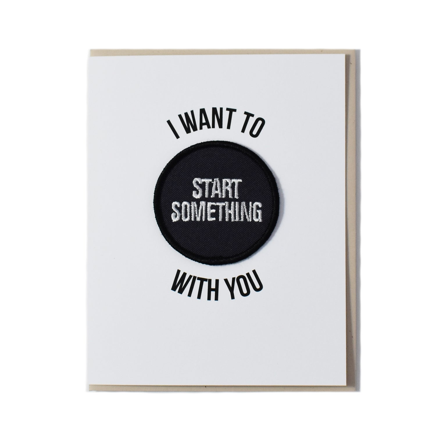Image of Start Something Card