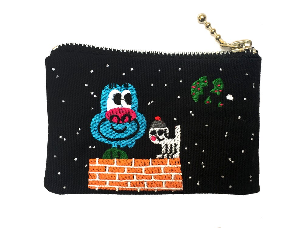 Image of Sky Watchers, coin purse | MOONRISE