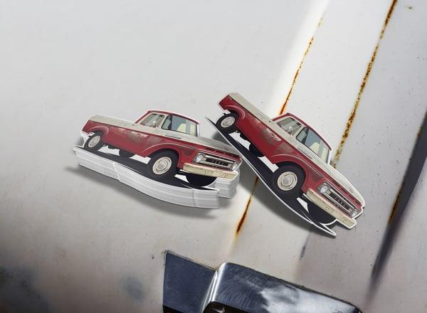 "Image of 1961 F100 ""Ol Red"" Sticker"