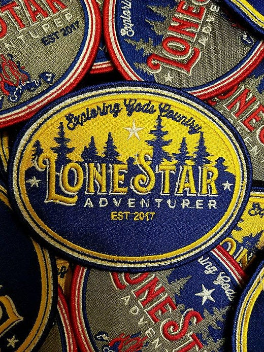 Image of Lonestar Adventurer Embroidered Patch