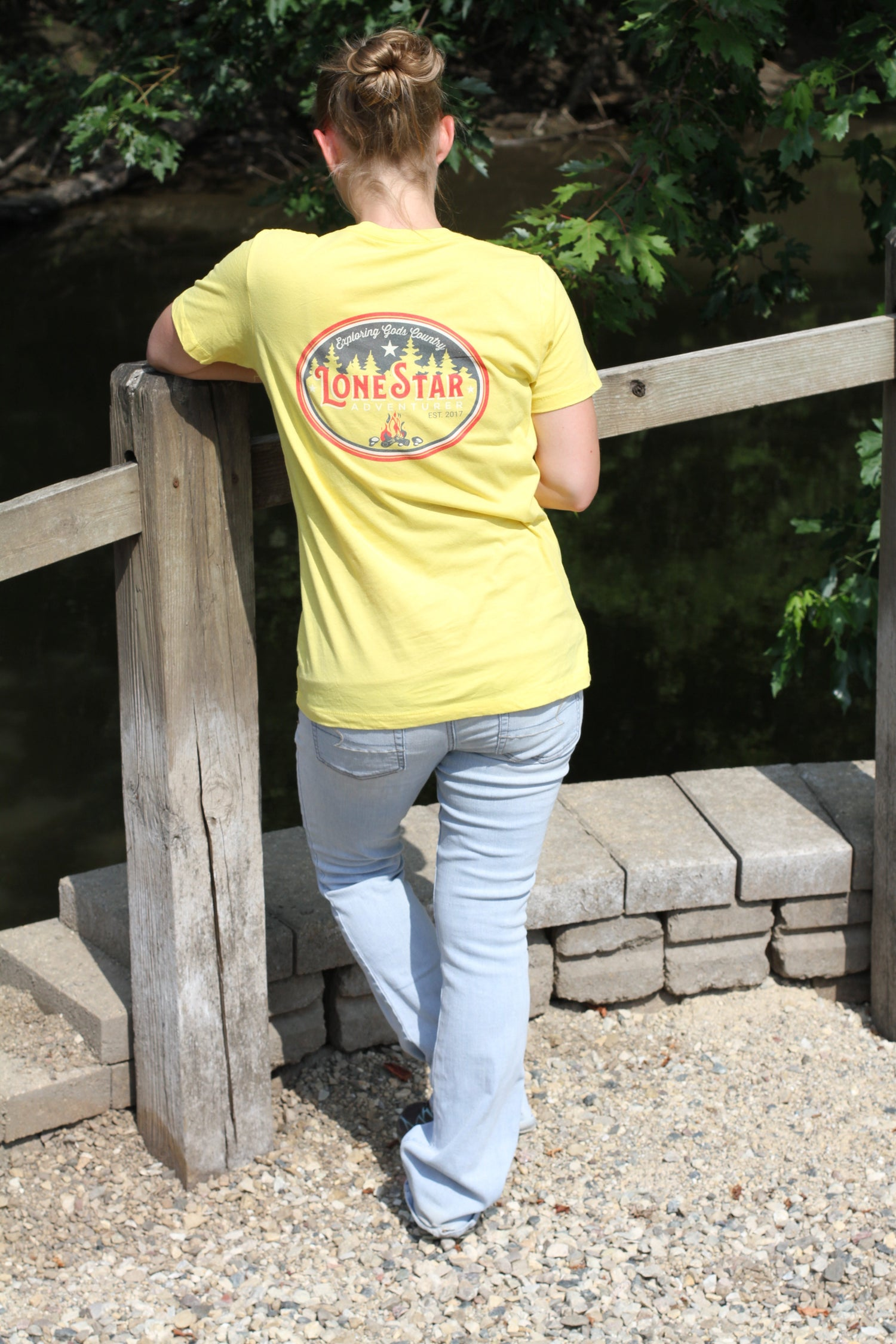 Image of LSA Vibrant Yellow Tee Womens