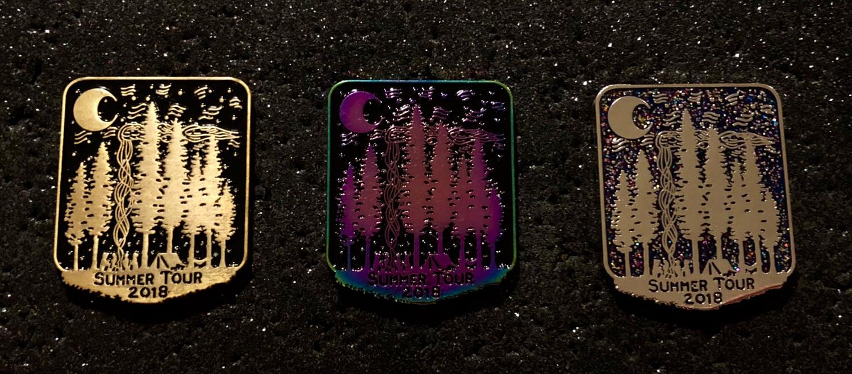 Image of Phish Summer Tour 2018 pins