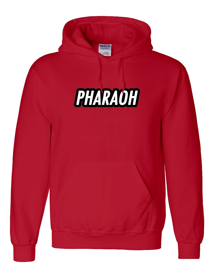 Image of PHARAOH HOODIE - RED