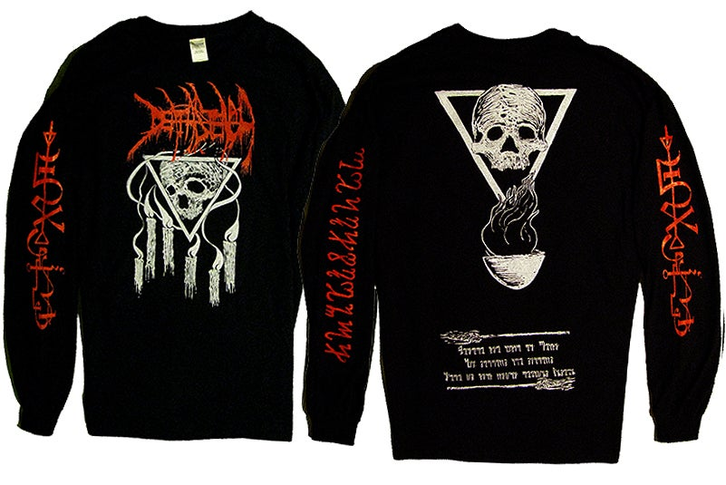Image of Visions From The Black Flame Long Sleeve Shirt
