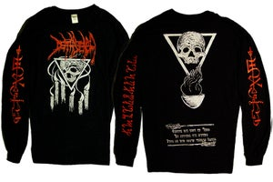 Image of Visions From The Black Flame Long Sleeve Shirt + Short Sleeve Shirt