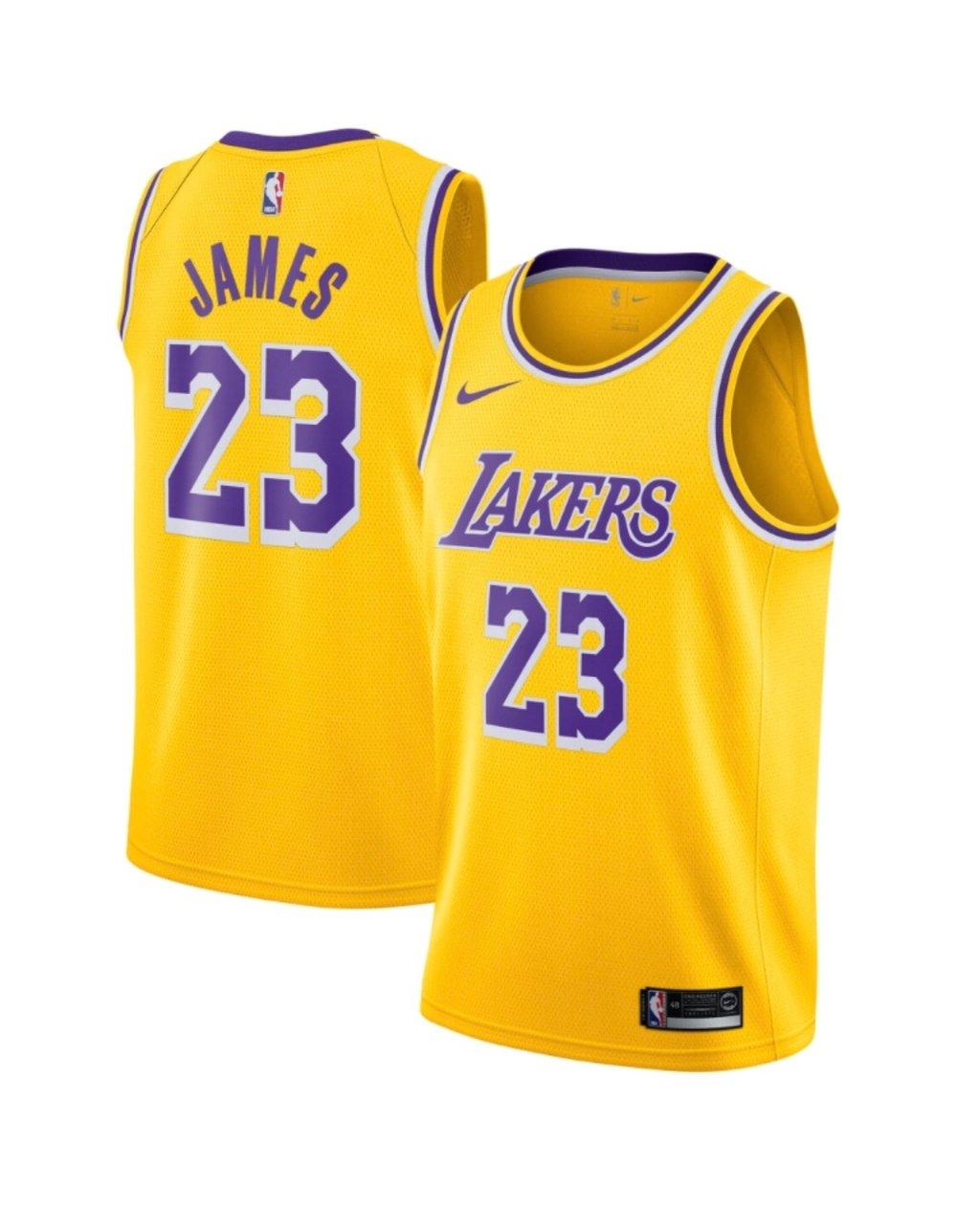 Image of 2018/2019 Lebron James lakers  swingman Jersey