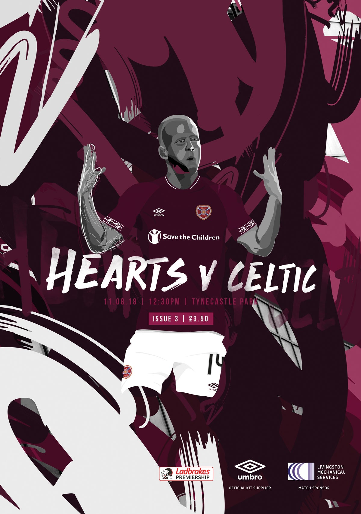 Image of Hearts v Celtic, 11th August 2018