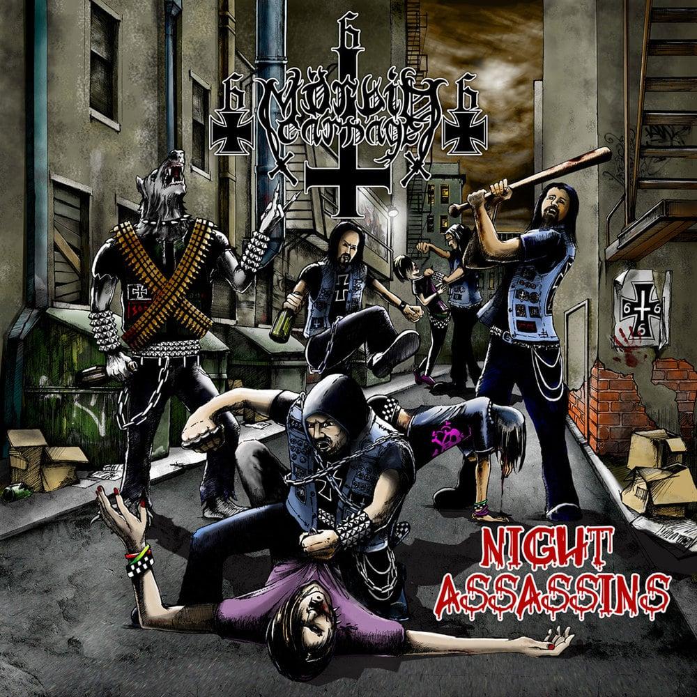 """MORBID CARNAGE """"Night Assassins"""" Super Jewel Box CD"""