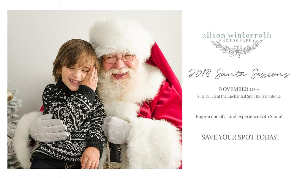 Image of Meet Santa Mini Sessions