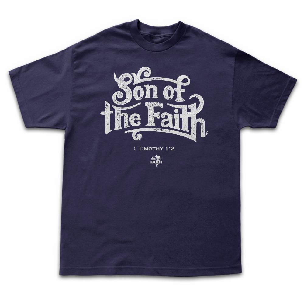 Image of Son of Faith - Navy Blue