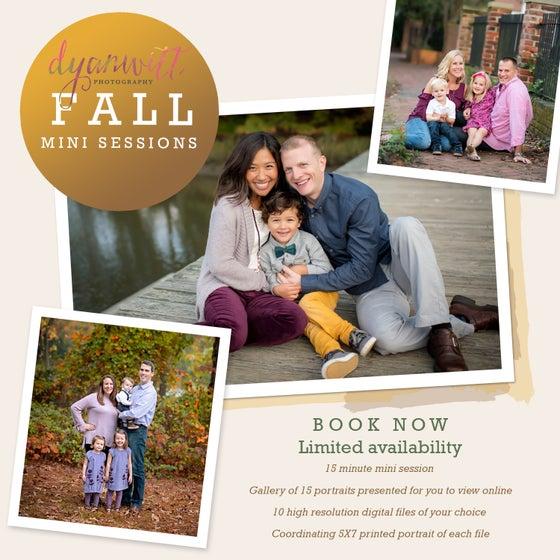 Image of 2018 Fall Outdoor Mini Sessions - Norfolk, Virginia Beach
