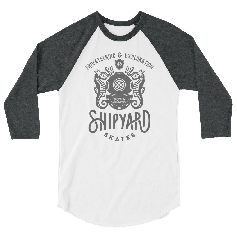 Image of Shipyard Skates PRIVATEERING AND EXPLORATION Ragland Tee