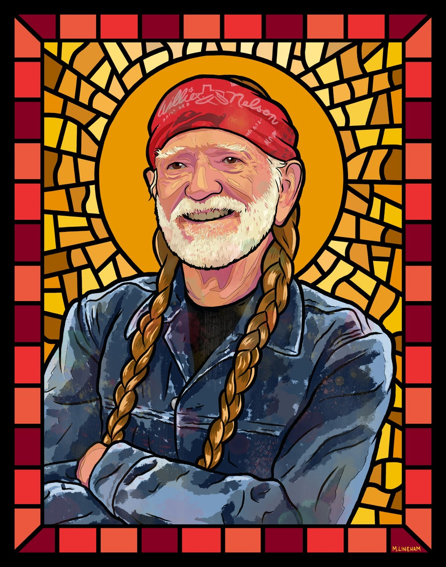 Image of Saint Willie Nelson