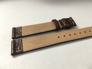 Image of LONGINES SLIM LEATHER STRAPS,18MM,20MM,BROWN,BLACK,(WITHOUT BUCKLE)