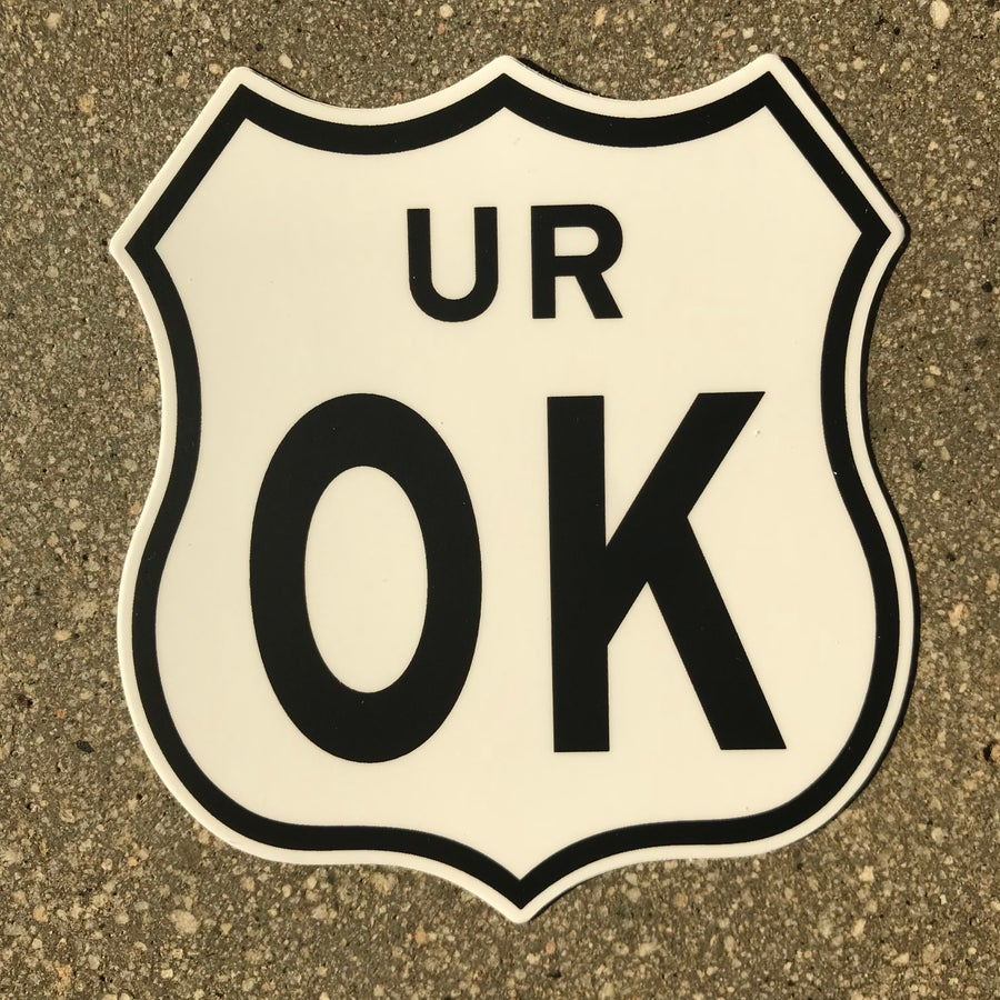 Image of UROK Sticker