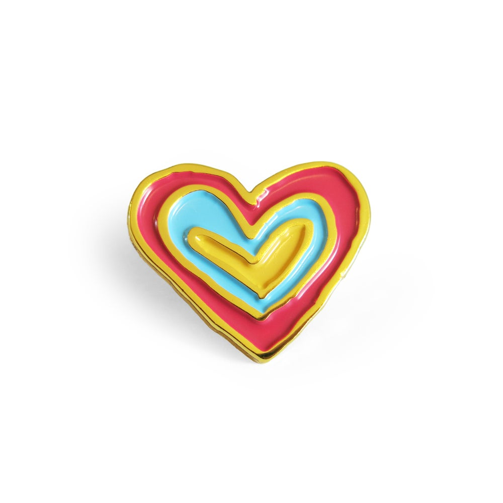 Image of Kind Heart Enamel Pin