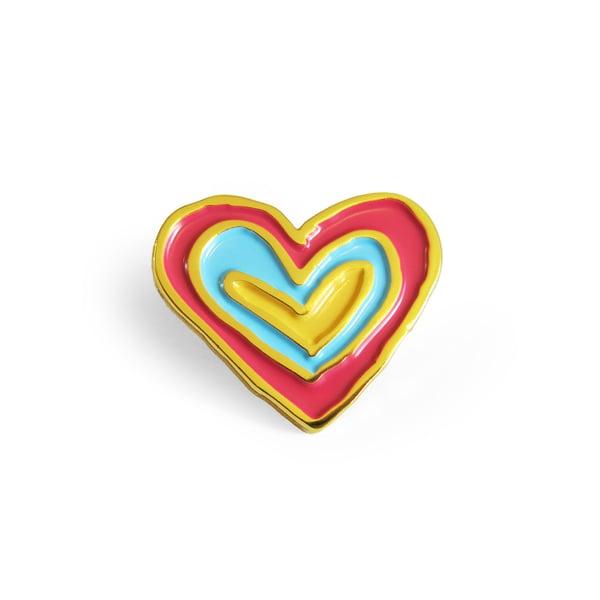 Image of Kind Heart Enamel Pin
