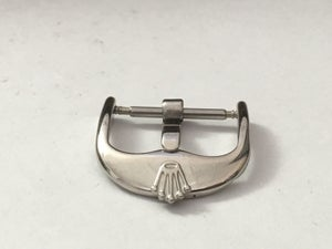 Image of ROLEX WATCH STRAP BUCKLE,STAINLESS STEEL,16MM AND 18MM,NEW.VINTAGE SHAPE