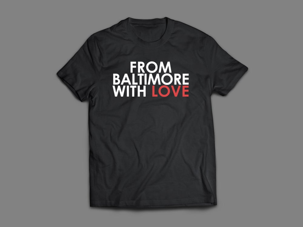 Image of From Baltimore With Love Original SS Tee - Black