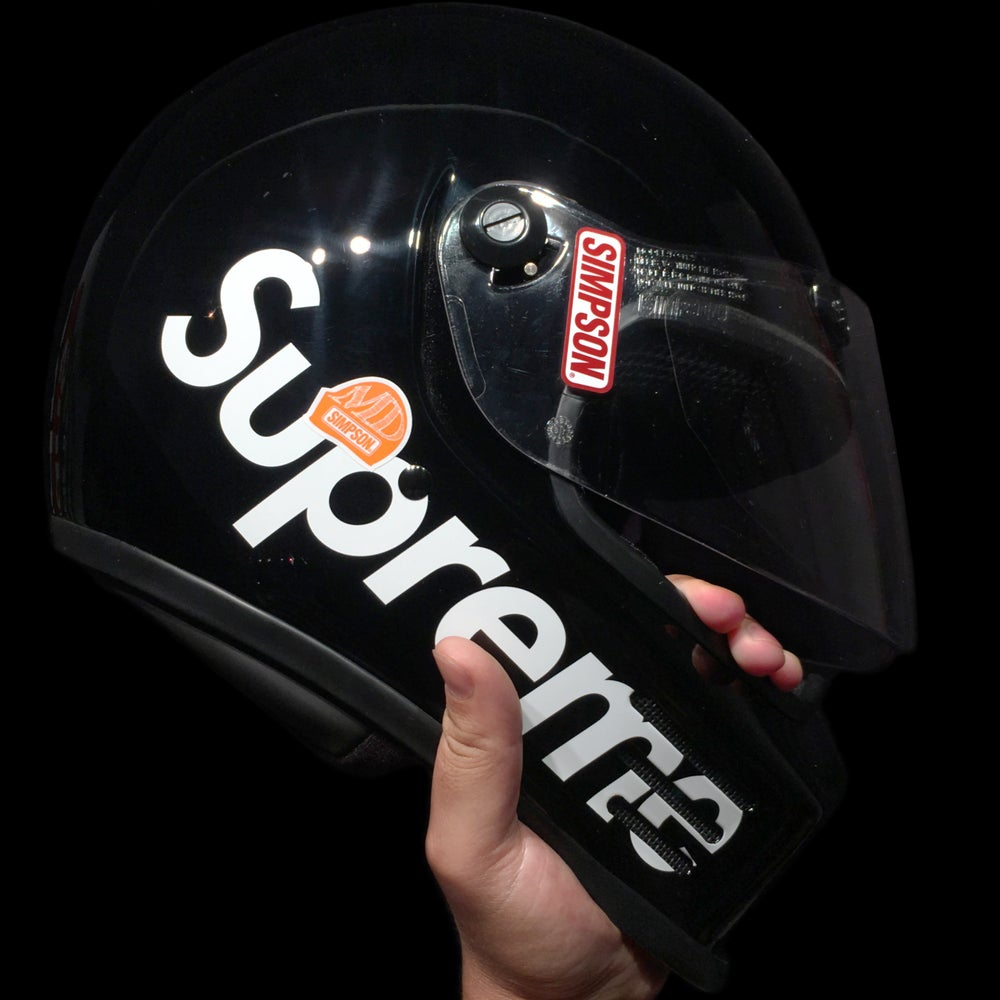 Image of 2016 Simpson Street Bandit Helmet (Black)