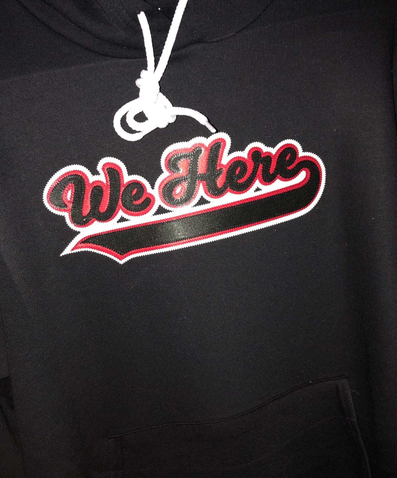 Image of F² WeHere fleece hoodie