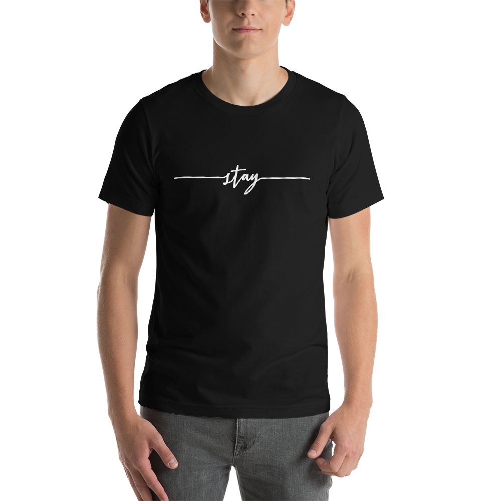 Image of Unisex Stay Tee - Black