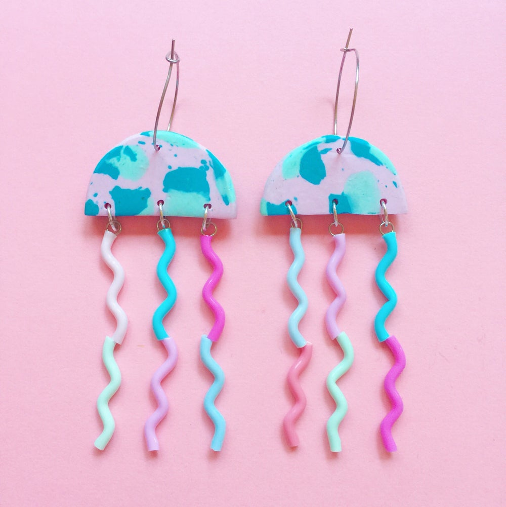 Image of Pink and blue hue jellies collection