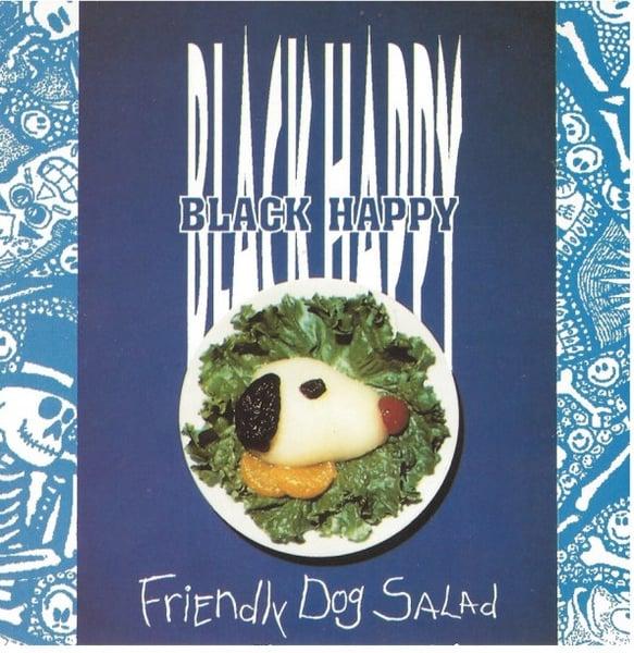 Image of Black Happy - Friendly Dog Salad LP