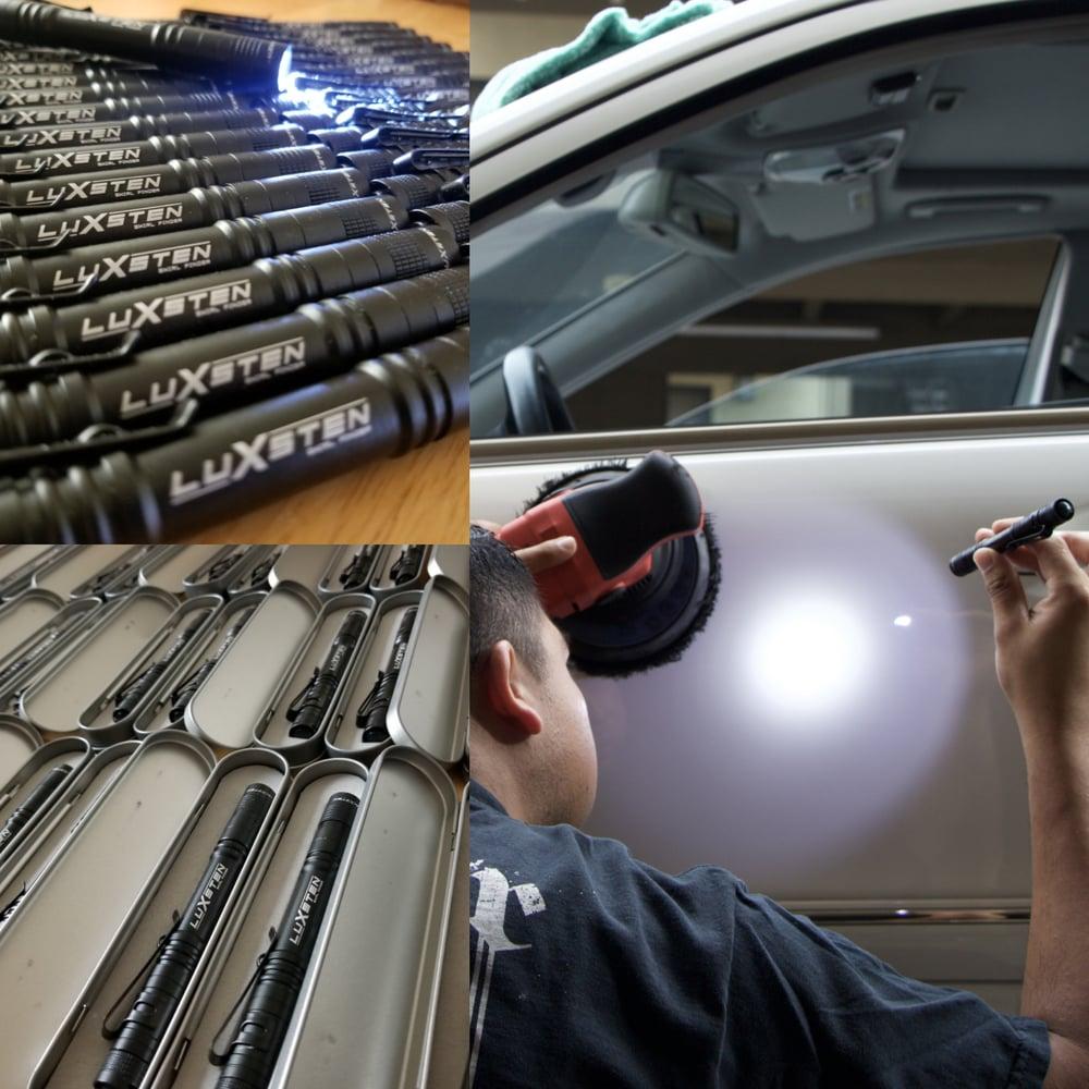 Image of Luxsten Swirl Finder w/heavy duty aluminum case