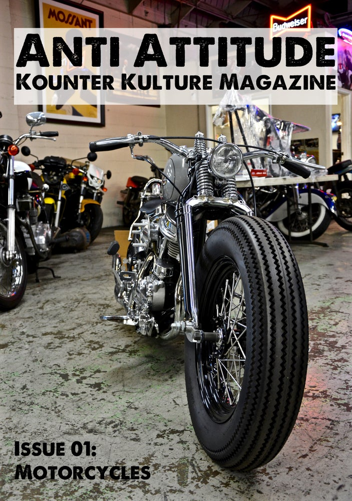 Image of Issue 01: Motorcycles