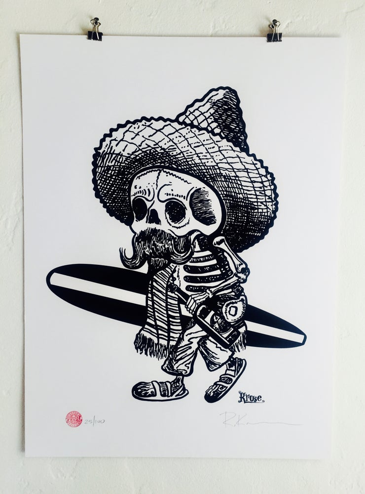 Image of Borracho Silkscreen Poster