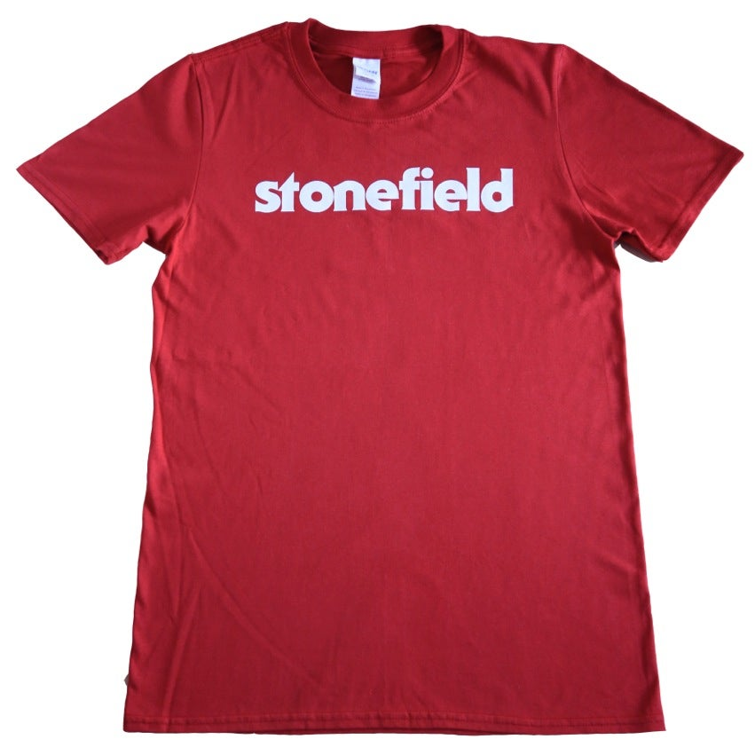 Image of Red Stonefield Logo T-Shirt